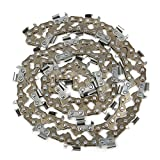 Best to Buy New 2pcs 20inch Bar Chainsaw Chain Semi Chisel 0.325'' 0.058