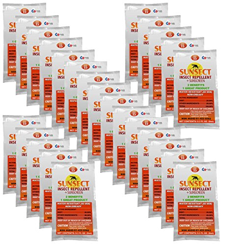 Sunsect Insect Repellent + Sunscreen .3 oz Foil Packet