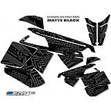 Senge Graphics 2011-2014 Polaris RMK//SWITCHBACK Mayhem MATTE Black Sled Wrap