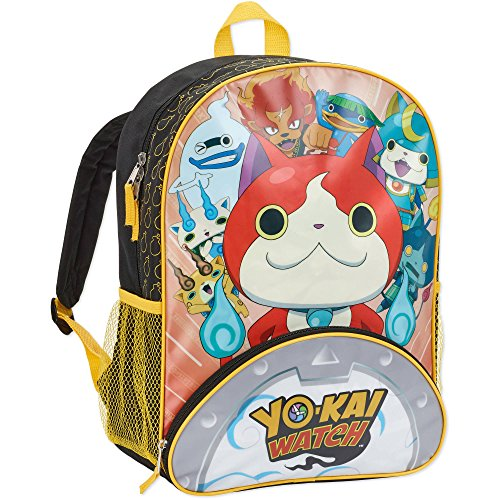 Yo-Kai Watch Jibanyan Power 16 inch Backpack with Side Mesh - Backpacks Sale For Mesh