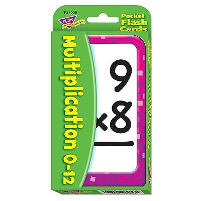 Trend Enterprises Multiplication Pocket Flash Cards: Toys & Games