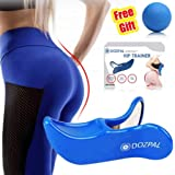 DOZPAL Super Kegel Exerciser, Pelvic Floor Muscle and Inner Thigh Exerciser, Hip Trainer Buttocks Correction Beautiful Buttocks Glute Trainer & Bladder Control Device-Postpartum Rehabilitation
