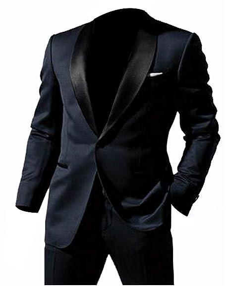 Lp Facon Skyfall James Bond Midnight Blue Tuxedo Suit