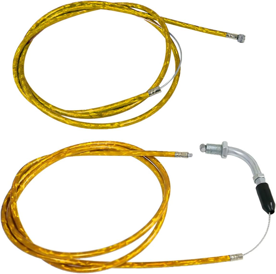 sthus 150cm Throttle Clutch Cable Line Fit 49//60//66//80cc Engine Motorized Bike