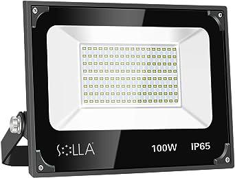 1X 100W White LED Floodlight Outdoor Flood Security Wall Light Landscape Garden