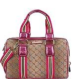 Nicole Lee Signature Series II Boston Bag (NL Signature)