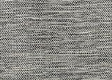 HALF ROUND 3'X1'6'' Cooper Island Gunmetal Custom Cut Economy Indoor Outdoor Carpet Patio Area Rugs