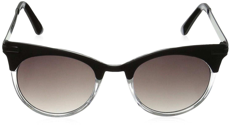 913d928e55814 Amazon.com  Betsey Johnson Women s Vanessa Square Cateye Sunglasses black  60 mm  Clothing