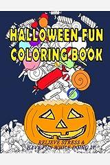 Halloween Fun Coloring Book Paperback