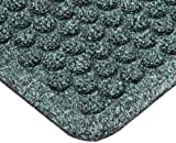 Notrax 150 Aqua Trap Entrance Mat, for Main Entranceways and Heavy Traffic Areas, 4' Width x 6' Length x 3/8'' Thickness, Hunter Green