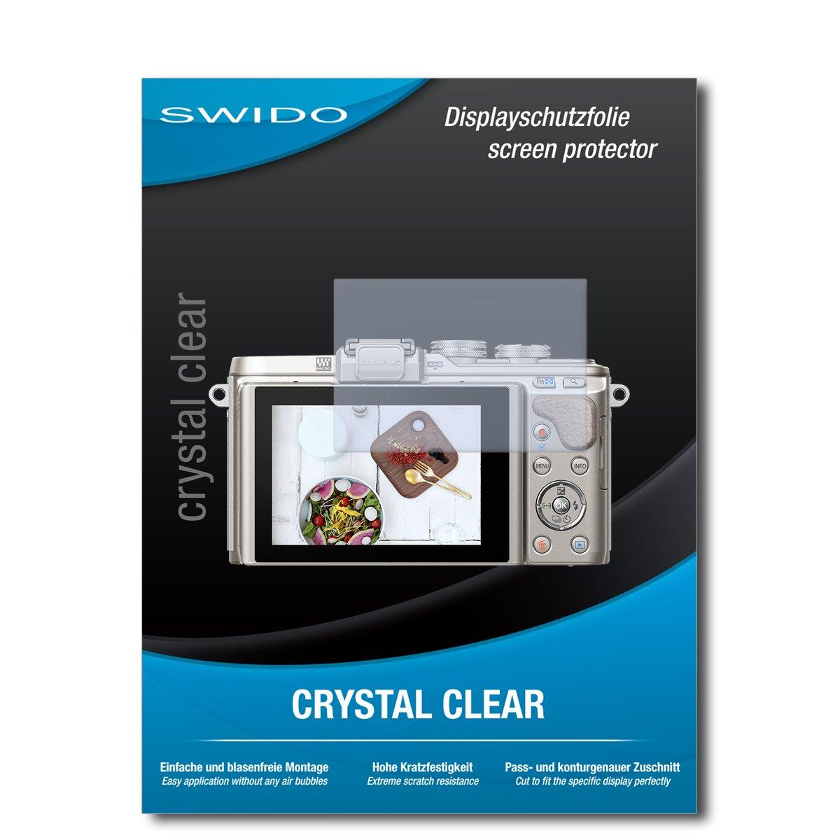 2x protector de pantalla mate para olympus pen e-pl1 lámina protectora protector de pantalla Lámina