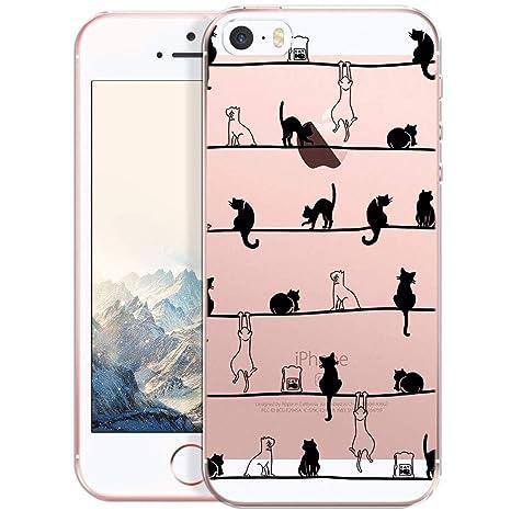 Carcasa para Móvil compatible con iPhone 5, iPhone SE, Funda ...