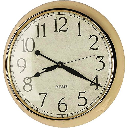 benzara metal wall clock