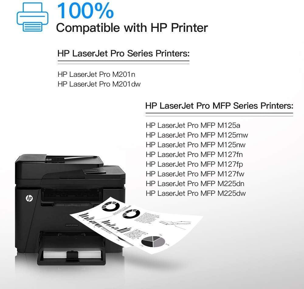 Amazon.com: Cartucho de tóner compatible HP 83A CF283A negro ...