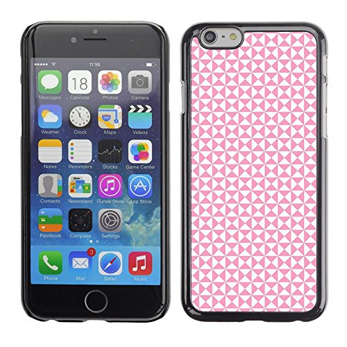 Abstract Busy Pink White Pattern Apple iPhone 7 (4.7 inchesHard Printing Protective Cover Protector Sleeve Shell Case Cover