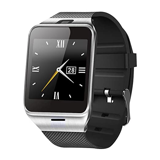 Smartwatch Demiawaking Relojes Inteligentes Aplus GV18 Bluetooth Reloj De Pulsera Smart Phone Mate 1.55 ""