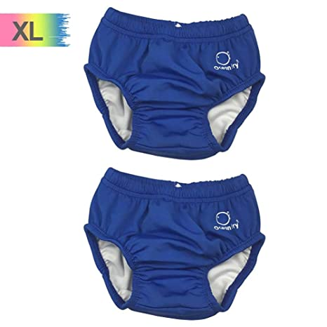 Reusable Baby Swimming Nappy Pants Kids Leakproof Quick Dry Swimwear Swimsuit