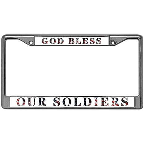 Custom License Plate Covers >> Amazon Com License Plate Covers Frames Stainless License