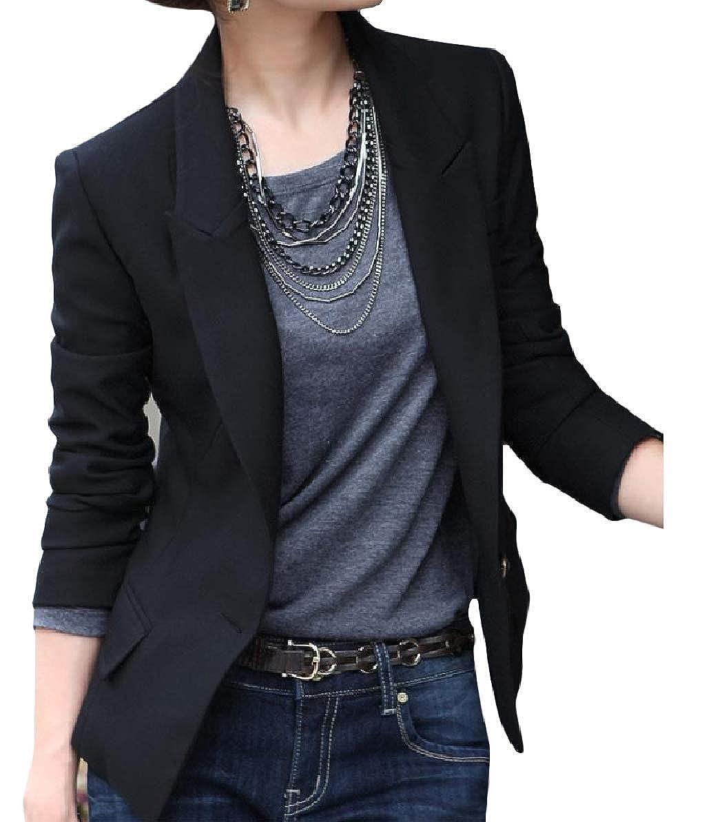 Zimaes-Women Lapel Long-Sleeve Mid-Long Oversized Pocketed Outwear Jacket