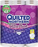 Quilted Northern Ultra Plush Double Roll Toilet Tissue, White, 48ct Reviews