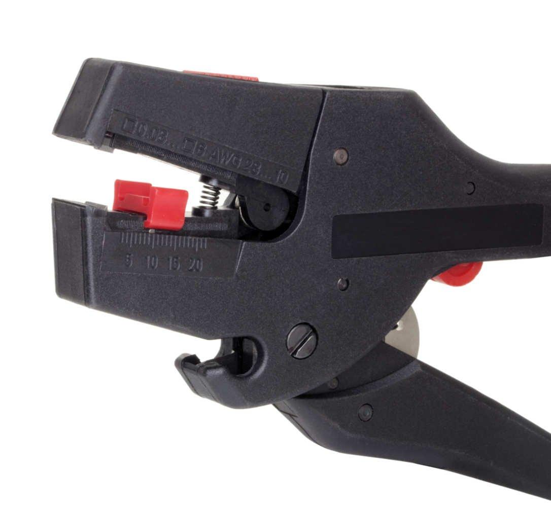 6mm/² Kabelzange mit Drahtschneider Automatische Abisolierzange 0,08mm/²