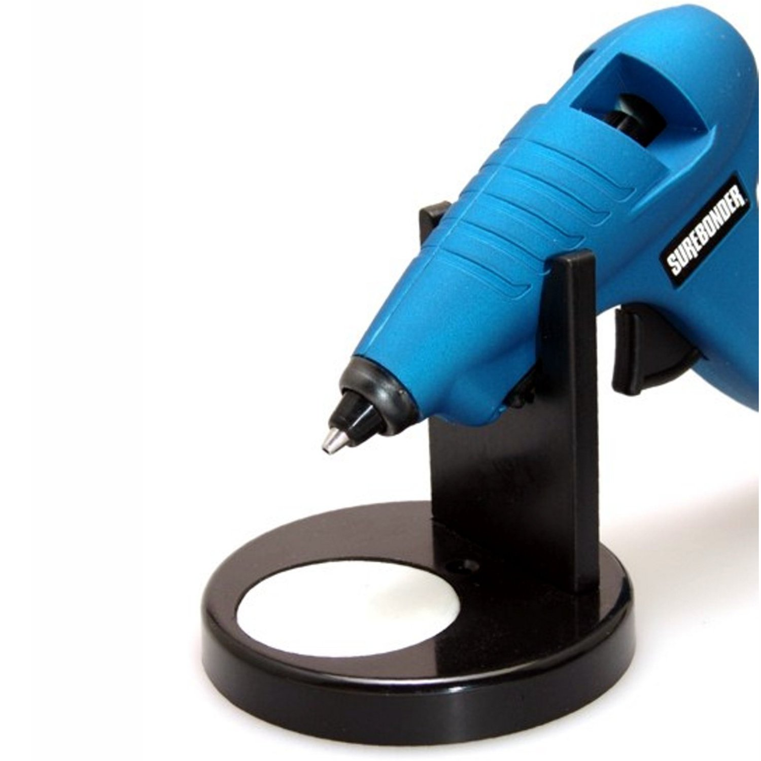 Surebonder 6500N Glue Gun Stand with Non-Stick Glue Pad-Black FPC CORPORATION