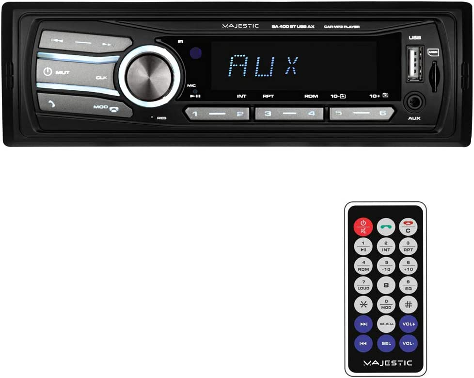 Majestic Sa 400 Bt Usb Ax Audio Car System Mit Elektronik