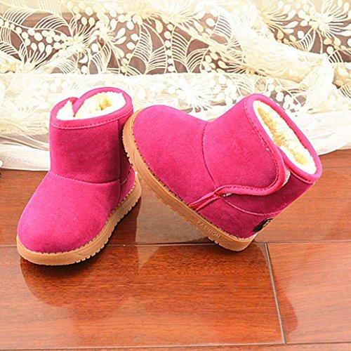 81d63c0ed289a LONUPAZZ Neige Bottes Chaudes Hiver Enfant Coton Chaussures BéBé Fille Hiver  ...