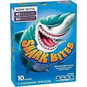 Fruit Shapes, Shark Bites, 8 Ounce (Pack of 5)