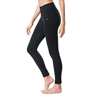 Dragon Fit Compression Yoga Pants Power Stretch Workout Leggings With High Waist Tummy Control, 02black, Small