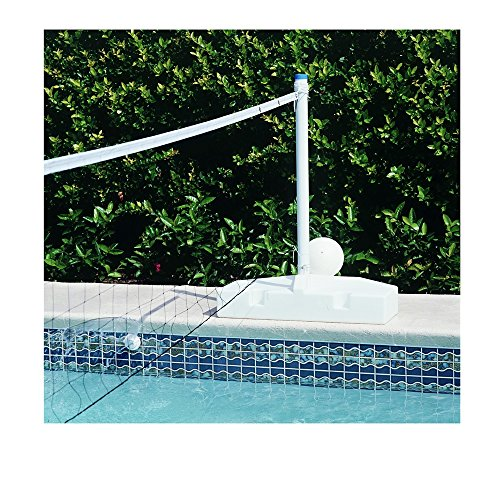 (POOL SHOT Pool Volleyball Net - Spike N Splash System)