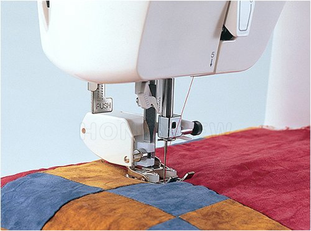Edredón de protectores de pantalla y guía de forma SA140 Brother sewing machines by sewing foot: Amazon.es: Hogar