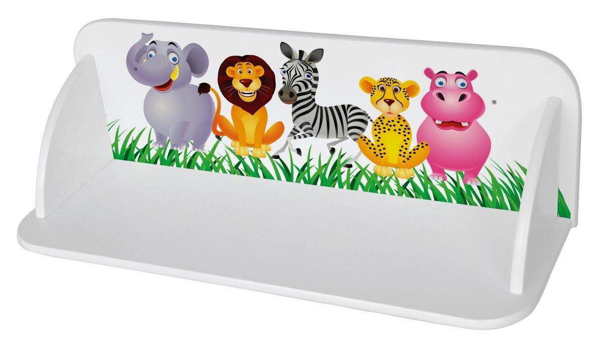 Mensole Da Muro Per Cameretta In Legno Scaffale Parete Libreria Per Bambini Zoo Giungla Leomark