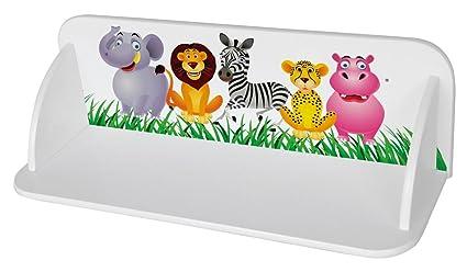 Mensole Da Muro Per Cameretta In Legno Scaffale Parete Libreria Per Bambini  Zoo Giungla