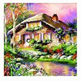 Eduavar Paint by Number Kits Paintworks DIY Oil Painting for Kids and Adults for Home Decor