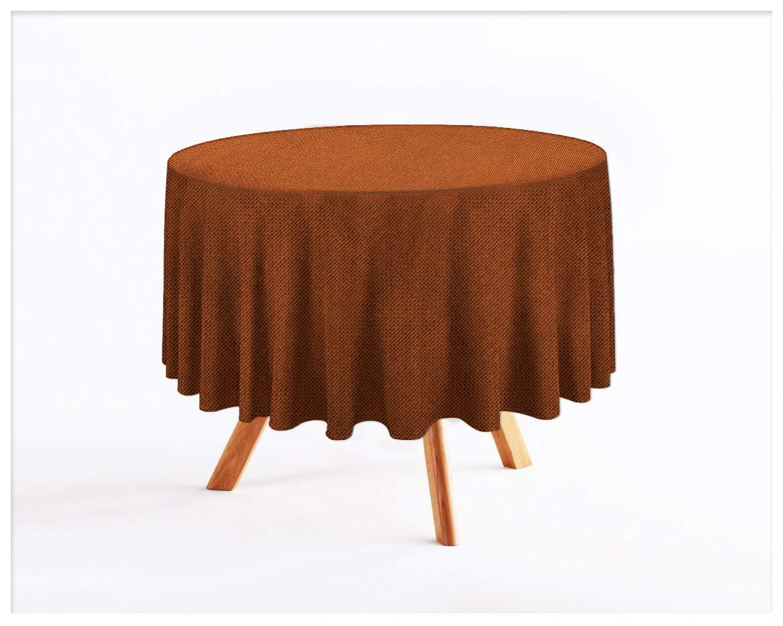 Rollmayer abwaschbar Tischdecke Wasserabweisend Lotuseffekt (Melange Rot 35, 150x350cm) Leinenoptik Tischtuch mit pflegeleicht Fleckschutz, Rechteckig, Farbe & Größe wählbar B07Q31GDJD Tischdecken