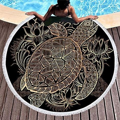 Amazon.com : GSYAZTT Hot Stamp Turtle Beach Towels ...