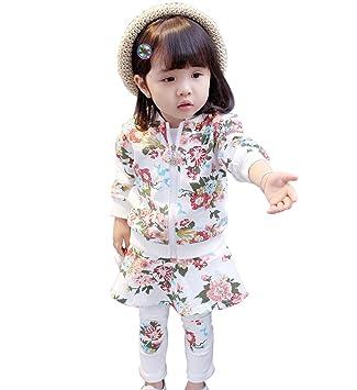 a96c5b214d430e YY-Natuhi ベビー服 女の子 ジャケット ブラウス ロングパンツ セットアップ 2点セット ジャージ スウェット 長袖