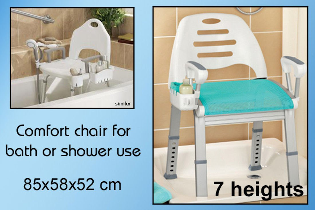 Wellys R 191529 Shower Seat Deluxe: Amazon.co.uk: Health & Personal Care