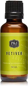 P&J Trading Vetiver Fragrance Oil - Premium Grade Scented Oil - 30ml