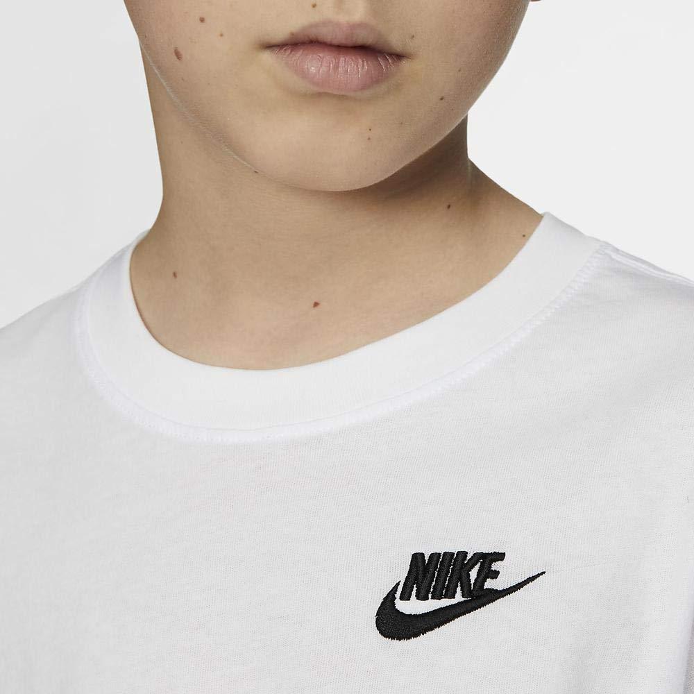 Nike B NSW Tee EMB Futura T-Shirt Bambino