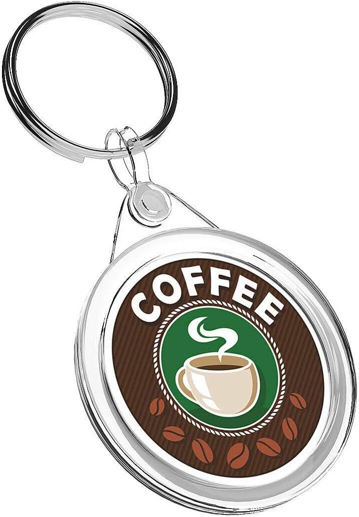 llavero IR02 mam/á pap/á ni/ños regalo de cumplea/ños #5573 Llaveros de vinilo de destino 1 x taza de caf/é de oficina