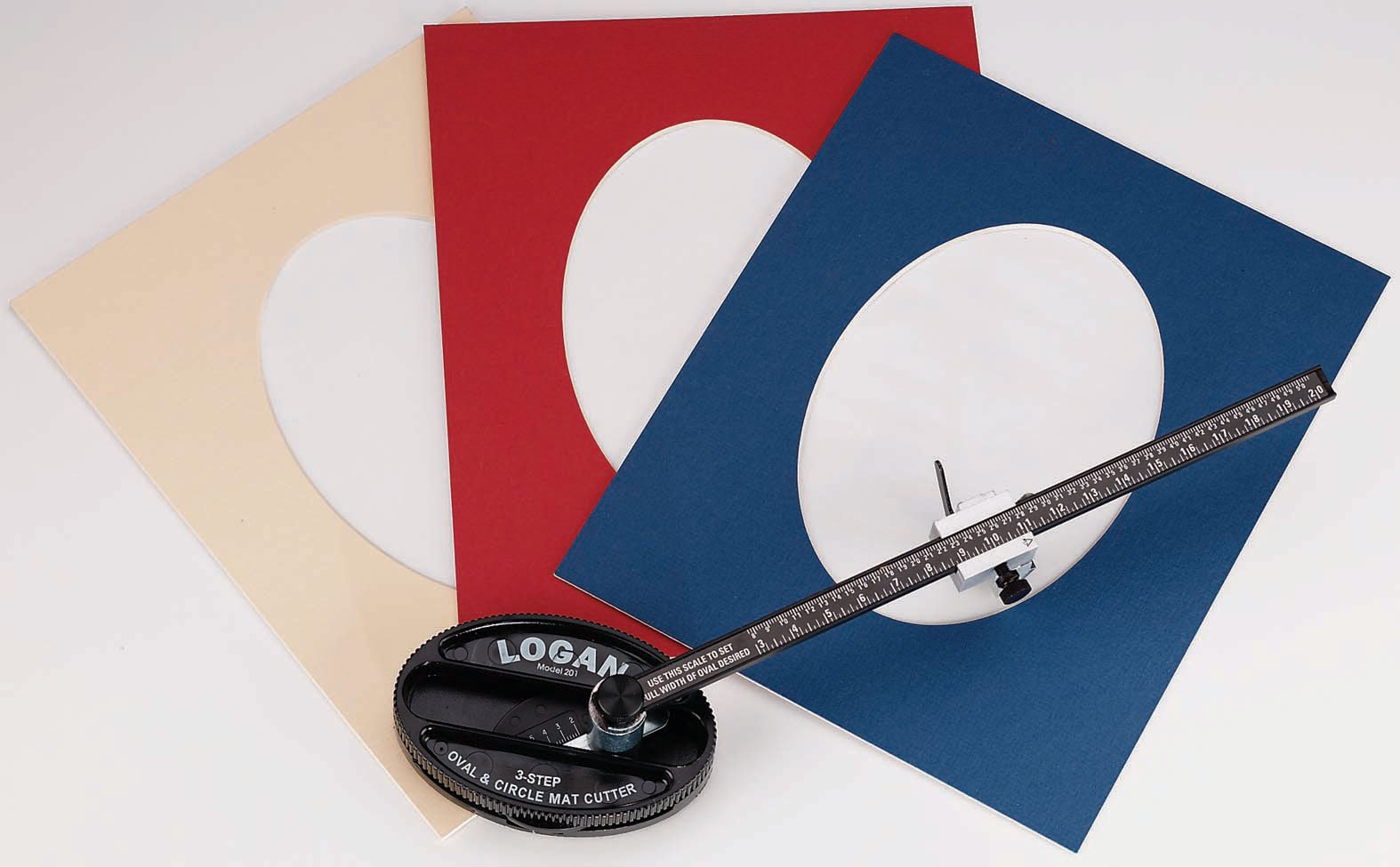 Logan Model 201 Oval & Circle Mat Cutter