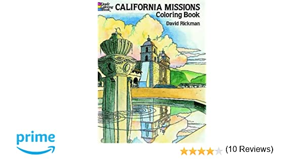 California Missions Coloring Book (Dover History Coloring Book ...