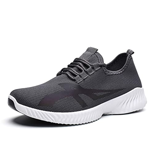 748a3da36 Men's Air Mesh Breathable Casual Shoes KKGG Lightweight Lace Up Sport Shoes  Outdoor Breathable Wild Sneakers