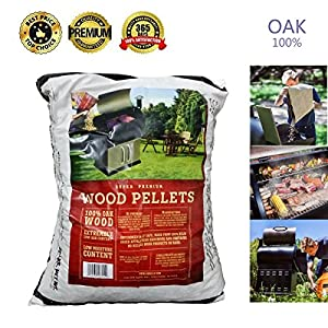 Z GRILLS Premium BBQ Wood Pellets for Grilling Smoking Cooking Oak Hardwood Pellets,20LB per Bag Made in USA from fabulous Z GRILLS