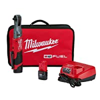 Deals on Milwaukee 2557-22 M12 FUEL 3/8 in. Ratchet Kit w/Batteries