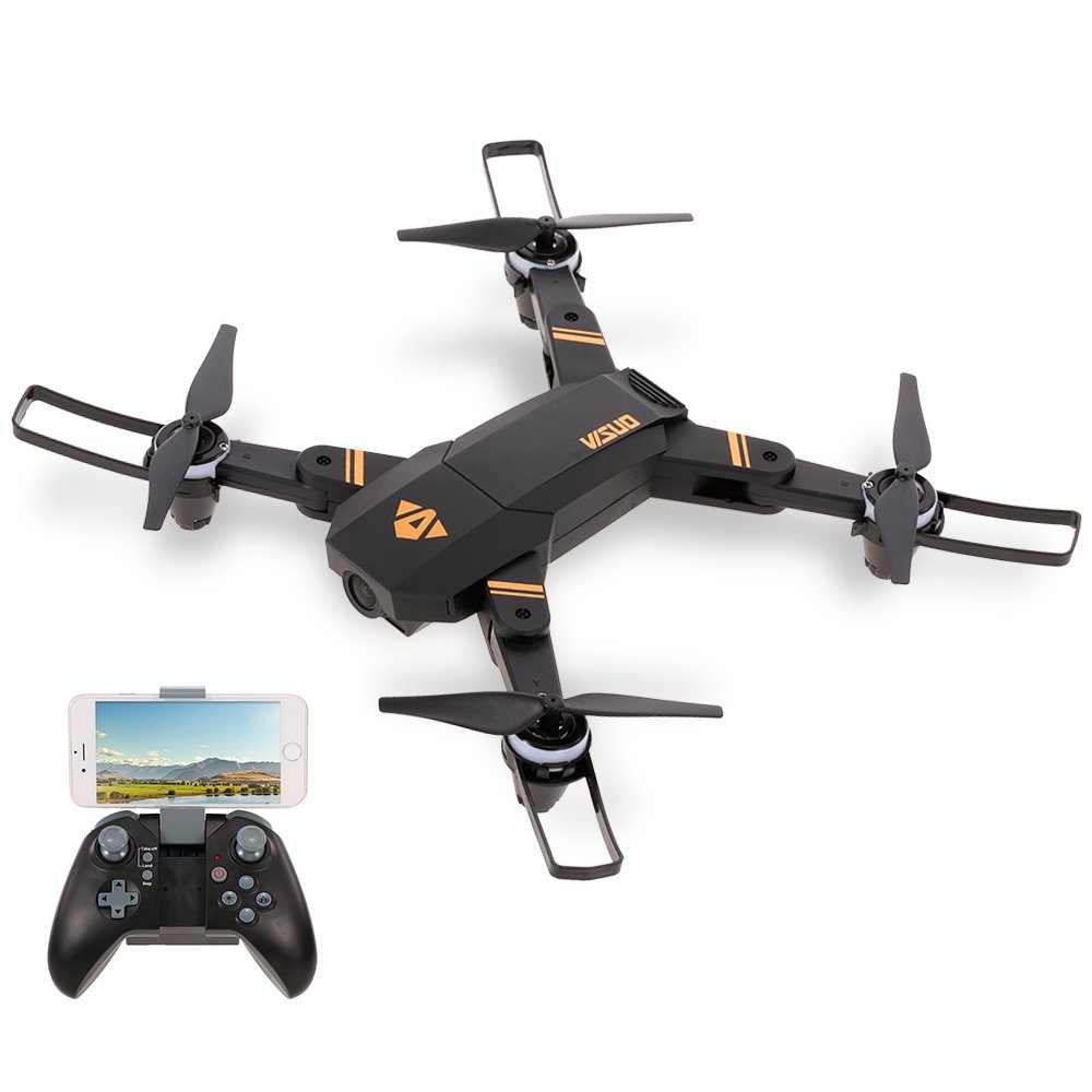 Goolsky VISUO XS809mini Höhe Halten Faltbare 720 P Weitwinkel Kamera Wifi FPV RC Training Drohne