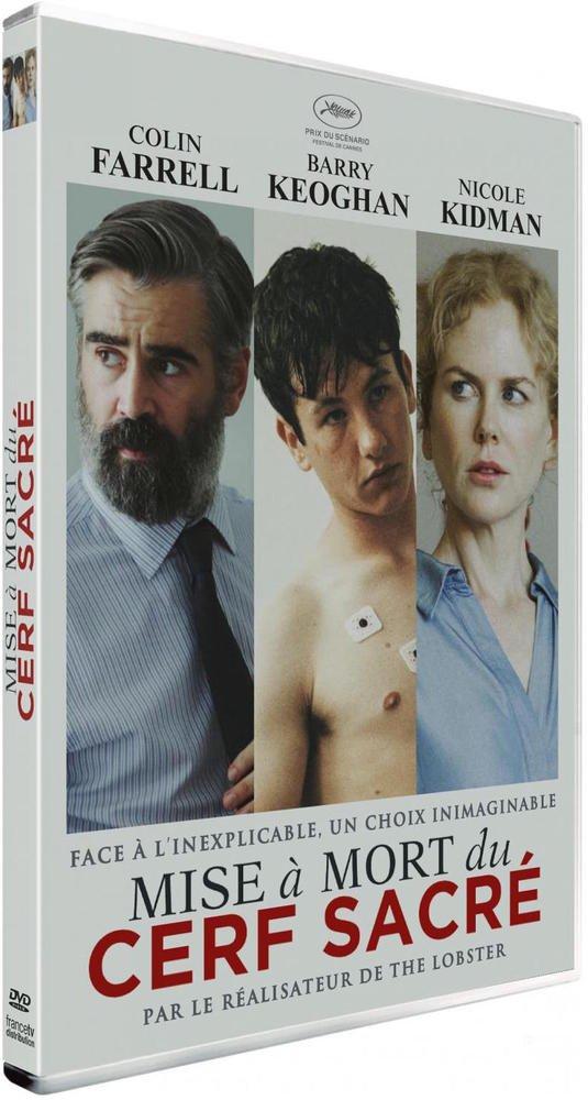 DVD du film Mise à mort du cerf sacré
