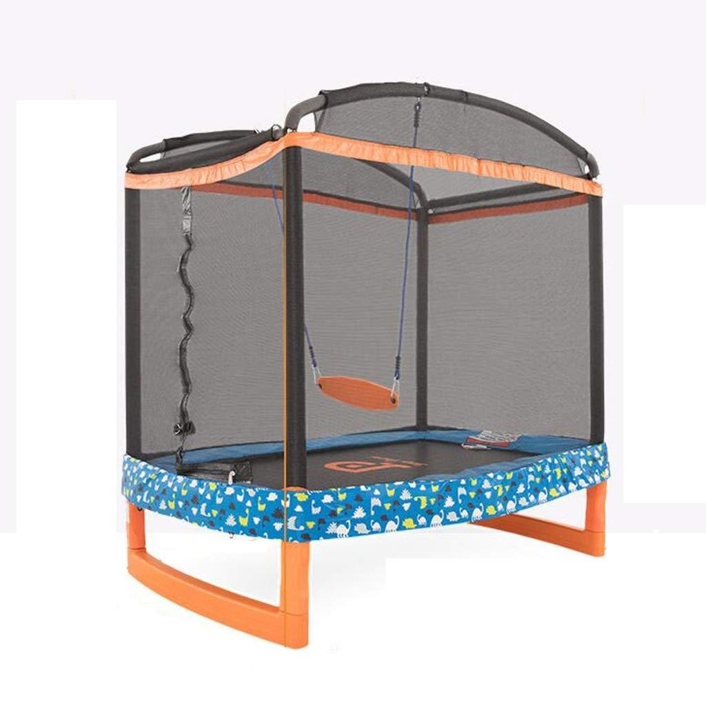 Gartentrampoline Trampolin-Haushaltskinder die Bett aufprallen Innentrampolin Swing-Jumping-Trampolin Trampolin-Fitness für Erwachsene Prallbett Tragegewicht 100kg